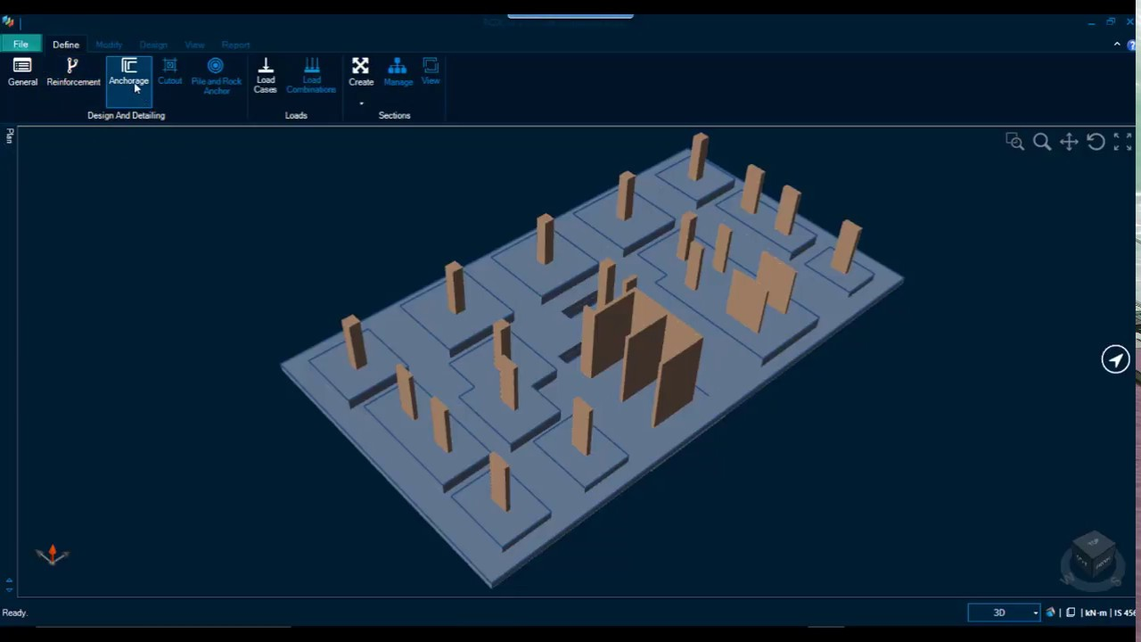 Repeat RCDC FE: Design of Raft Foundation and Pile Raft by Scube