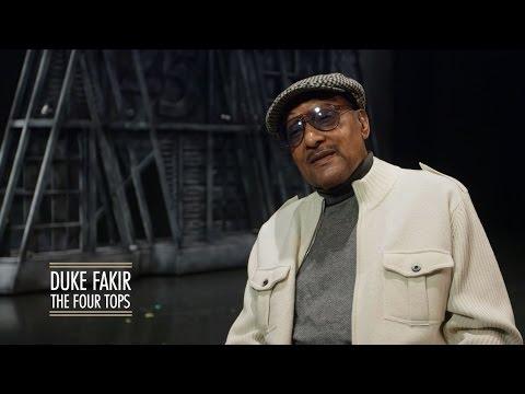 Original Four Top and Motown legend Duke Fakir visits Motown the Musical