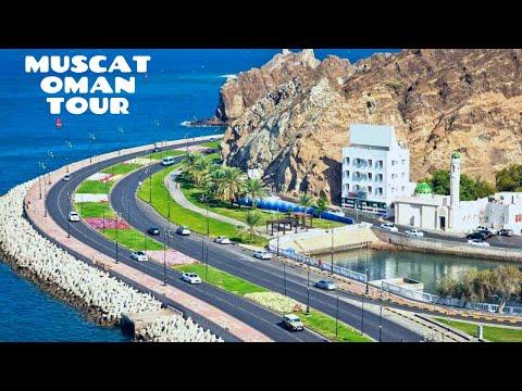 MUSCAT OMAN     Beautiful Muscat City tour    Bustan, Quram, Darsit, Ruwi, Wadi Al Kabir Posh Areas