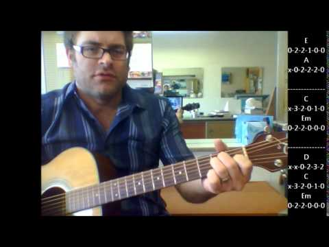 How To Play Black By Pearl Jam On Acoustic Guitar Youtube