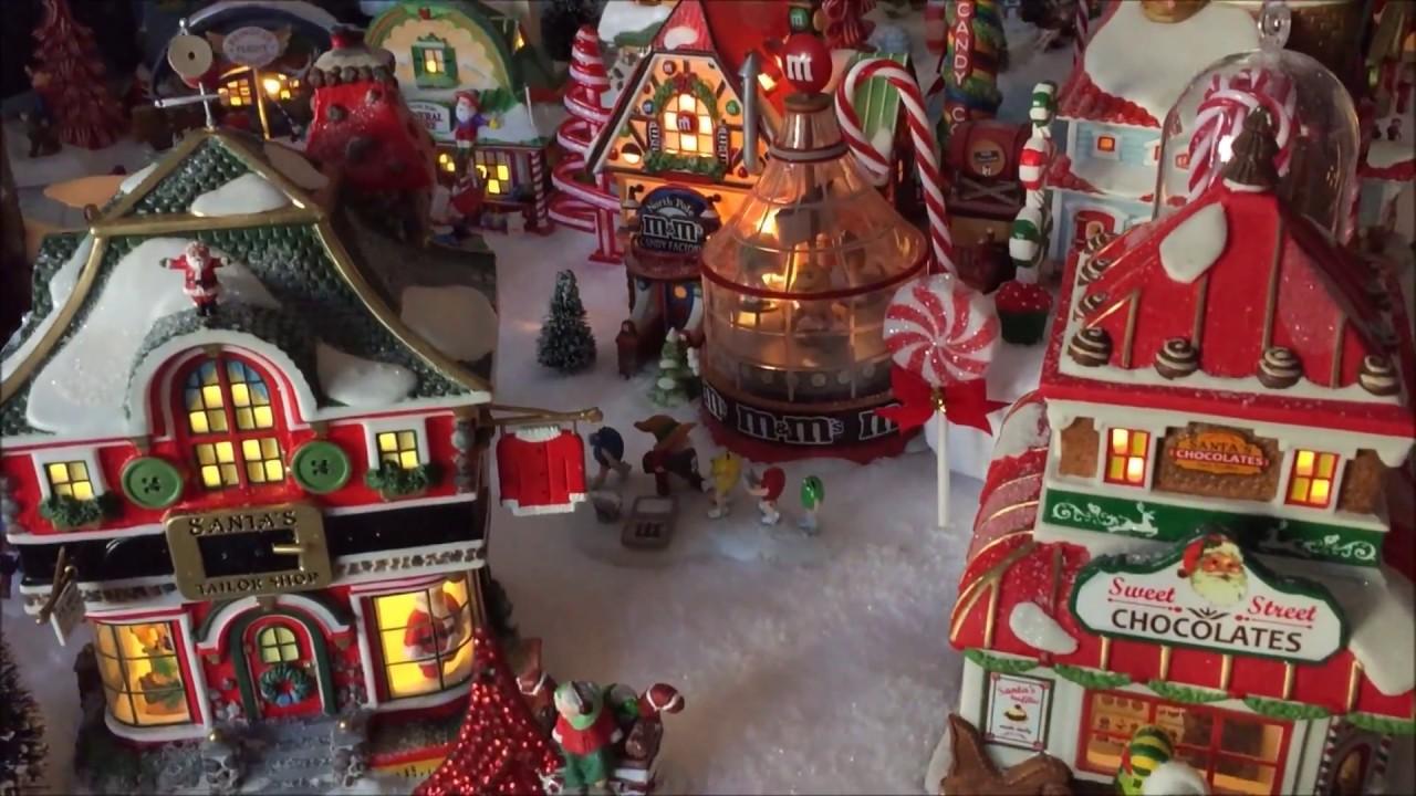 Village de Noel Christmas North Pole 2017 de jour (Lemax ...