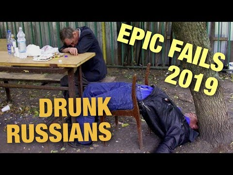 Epic Drunk Russian Fails 2019