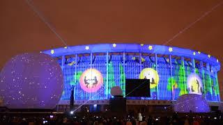 Фестиваль света 2018, Санкт-Петербург. Авторские проекты.