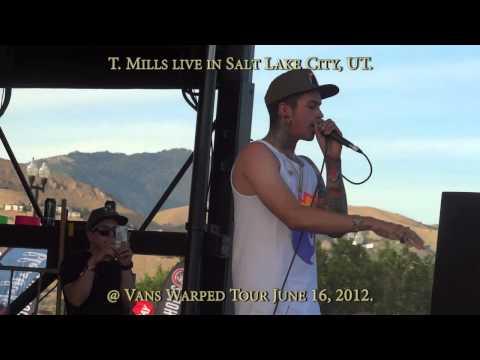 T. Mills Live in Salt Lake City, UT on June 16, 2012.