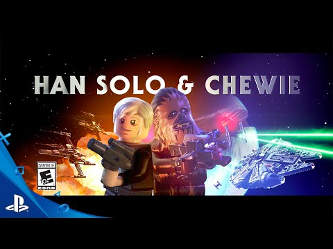 LEGO Star Wars: The Force Awakens - Han Solo + Chewie Character Spotlight Trailer | PS4, PS3