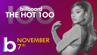 Billboard Hot 100 Top Singles This Week (November 7th, 2020)