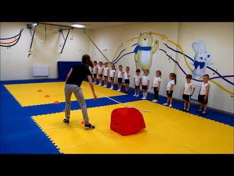 Открытый урок по физкультуре в детском саду видео