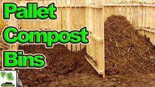 How I build My Compost Bins  General update and chat!