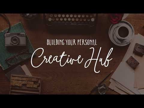 Do You Need a Creative Hub? | Store Your Scrapbook Ideas