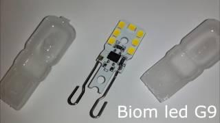 Светодиодная лампа Biom G9 3W 4500K ОБЗОР