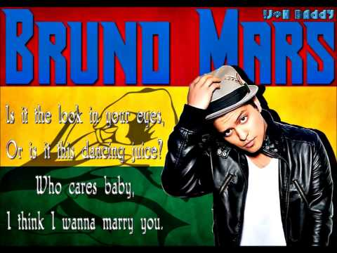 Bruno Mars - Marry You   (Reggae Version)