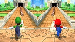 Mario Party 9 - Duel Minigames - Mario vs Luigi