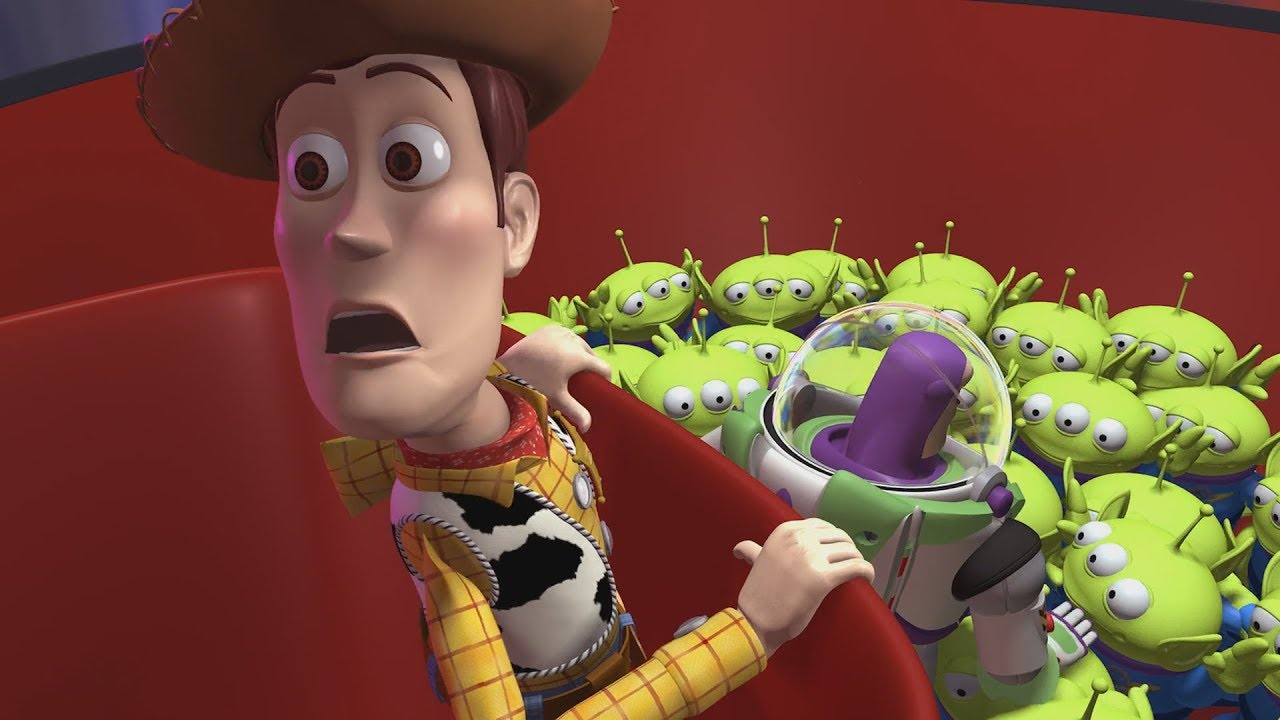 "Toy Story (1995) - ""The Claw"" Sid wins Buzz and Woody ..."