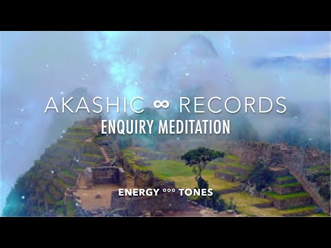 Energy Tones for Inquiry Meditation || ∞ Akashic Records 2