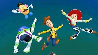 Gmod Ragdolls [Woody, Buzz, Jessie, Mr.Potato Head from Toy Story] vol.23