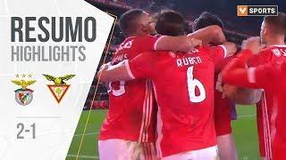 Highlights   Resumo: Benfica 2-1 Desp. Aves (Liga 19/20 #16)