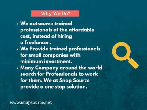 Snap Source - Digital Marketing Manpower Outsourcing Company in UK