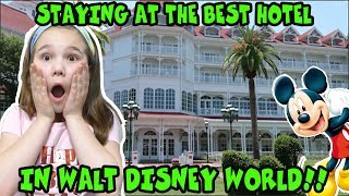 We Stayed At The Best Hotel In Disney World! Disney World Vacation Vlog