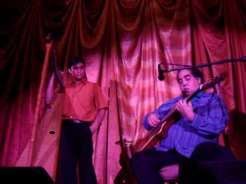 Aquiles Baez y Mauricio Malandra (Guitar and Harp)