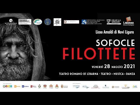 Filottete - Notte Nazionale del Liceo Classico 2021 a Libarna