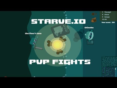 STARVE.IO - HOW TO BE PRO AT PVP FIGHTS PART 3