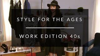 Work Wardrobe For Women In Their 40s