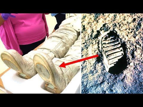 The Truth Behind Why Neil ArmstrongFootprints On The Moon Don't Match His Boots
