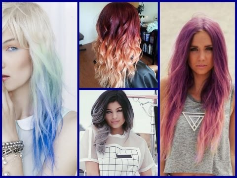 hair color trends - ombre colour