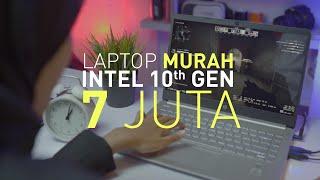 LAPTOP Teknologi Terbaru Harga MAHASISWA !!! | Review HP 14s-DQ1013TU Andaman