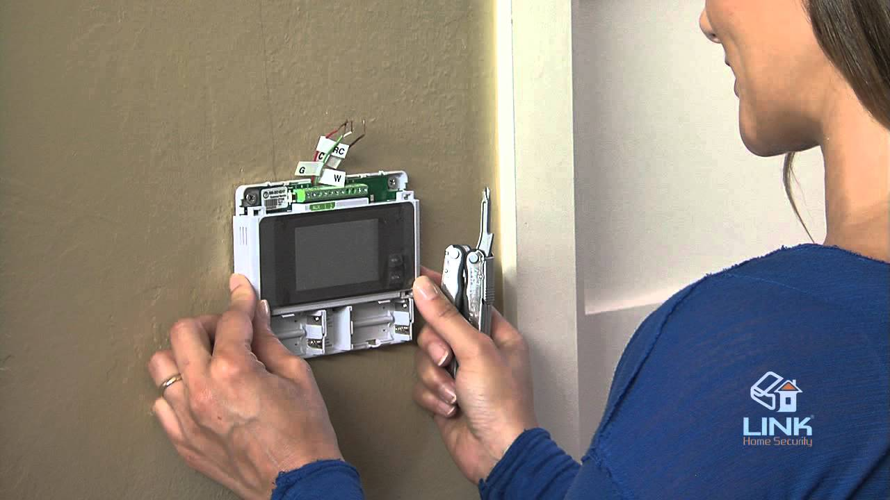 How To Install CT100 Z-Wave Thermostat (Link Interactive) Vivint Thermostat Wiring on xfinity thermostat, comcast thermostat, ge thermostat, electric heat thermostat, john deere thermostat, simplisafe thermostat, frontpoint thermostat, bluetooth thermostat, sensi thermostat, climate technology thermostat, daikin thermostat, trane nexia thermostat, ct100 thermostat, cold thermostat, water heater thermostat, pro 1 thermostat, two wire thermostat, lyric thermostat, alerton thermostat, wiring up thermostat,
