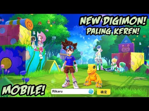 NEW!! | DIGIMON Digital Tyrannosaurus Guild Wars Gameplay Android / IOS RPG game apk  #Smartphone #Android