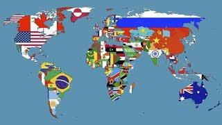 Top 10 největších zemí světa - 1 část