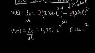 Chapter 2 - Motion Along a Straight Line