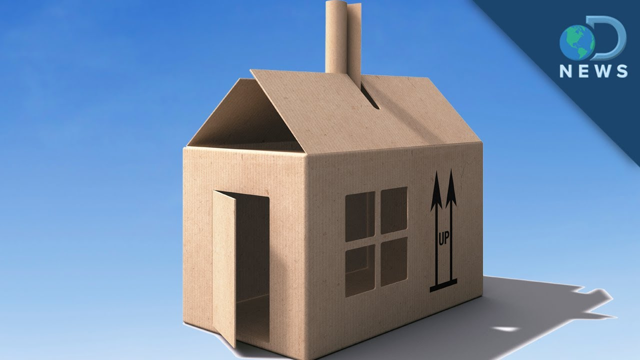 Building the future out of cardboard youtube for Build a 3d house online