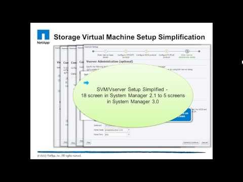 NetApp System Manager 3
