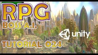 Wie man Ein RPG Für GRATIS - Unity-Tutorial #024 - BOSS KI