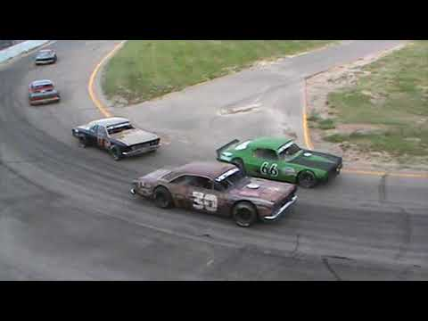 Western Nebraska Vintage Stock Car Association 05-26-2018 - Heat Race