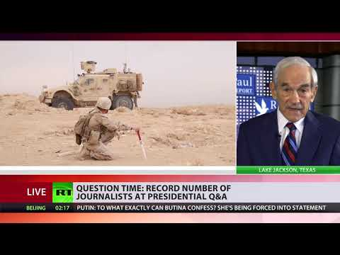 'We will go home because we go broke' – Ron Paul on US troops withdrawal from Syria