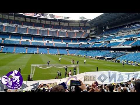 FANS RMCF - Homenaje a Álvaro Arbeloa - Real Madrid vs. Valencia (Video 2 de 2)