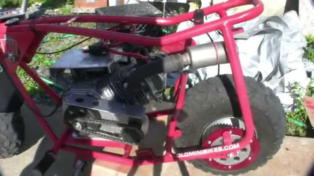 Intalling Kart Racing Spilt Ring Sprocket Adaptor On A Doodle Bug
