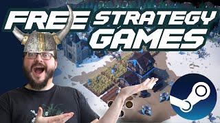 Top 10 Best FŔEE Strategy Games on Steam!
