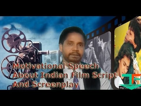 Motivational Short speech about indian film Script by NIFFA Student