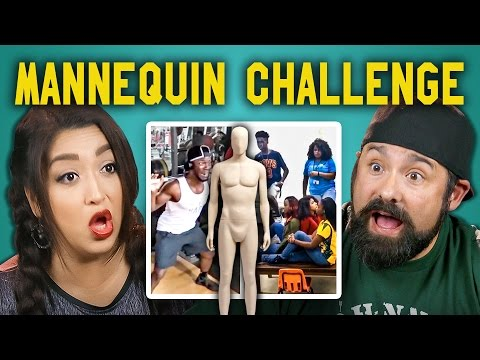 Thumbnail: ADULTS REACT TO MANNEQUIN CHALLENGE COMPILATION #mannequinchallenge
