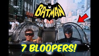 7 Batman (60's Show) Bloopers You Probably DID NOT Notice!