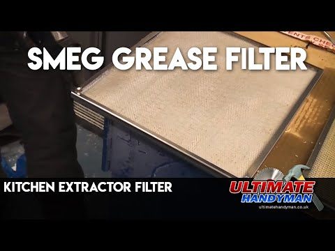 how to clean my range hood filter