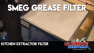 Kitchen extractor filter | Smeg grease filter