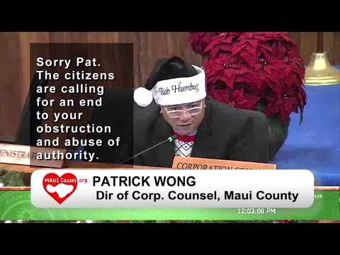 Maui Council Votes 9/0 for Public Works Audit. MauiCauses.org Petition for More Gets 1400+