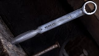 DIY Simple Wrench Knife [WalMiPictures]