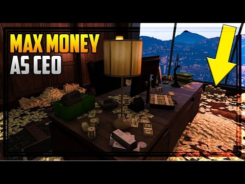 Gta  Online Fill Your Ceo Office With Cash Howto Not A Glitch But Important