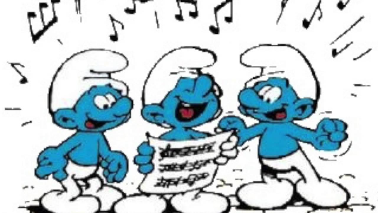 Cover sigle cartoni animati puffi la canta dominique